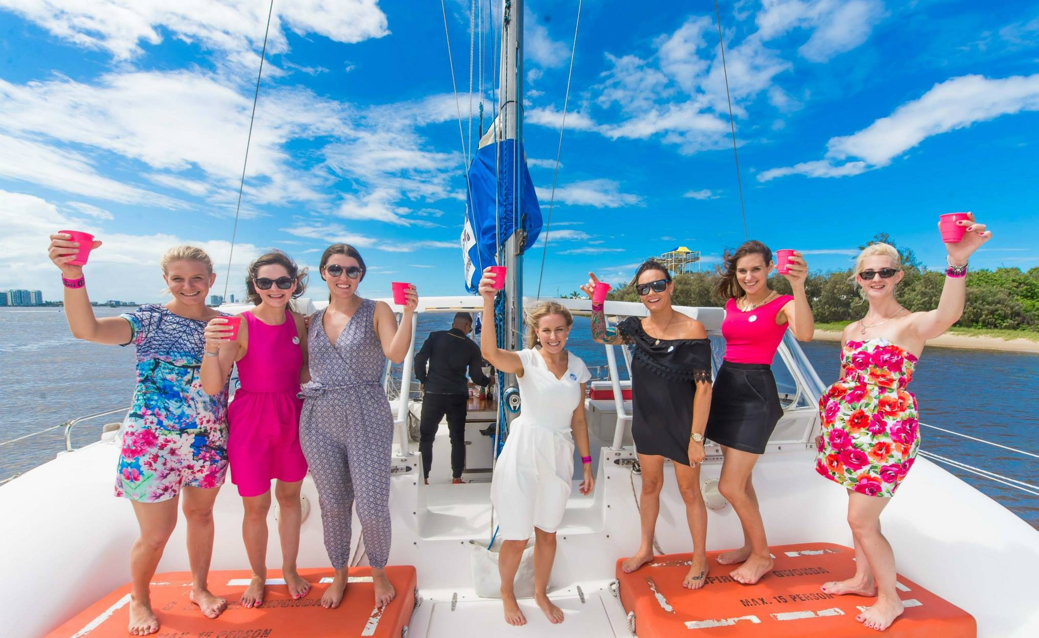 Christmas Party Ideas Gold Coast Part - 40: Hummers In Paradise Catamaran Hens Package Inclusions Are A Stretch HUMMER  Limousine Pick Up From Your Chosen Pick Up Point For A Half Hour Cruise  Including ...